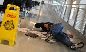 When Is a Business Owner Liable for a Slip and Fall Injury?